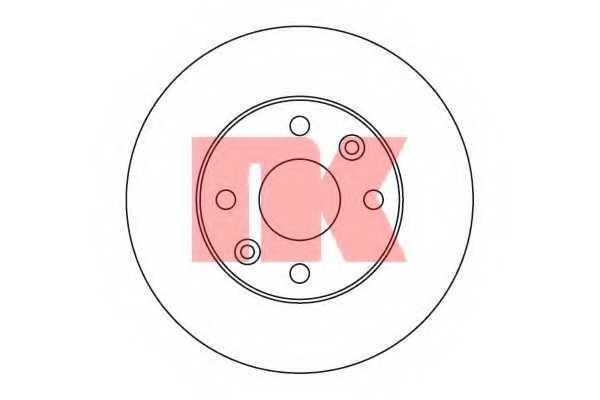 Тормозной диск NK 203510 - изображение