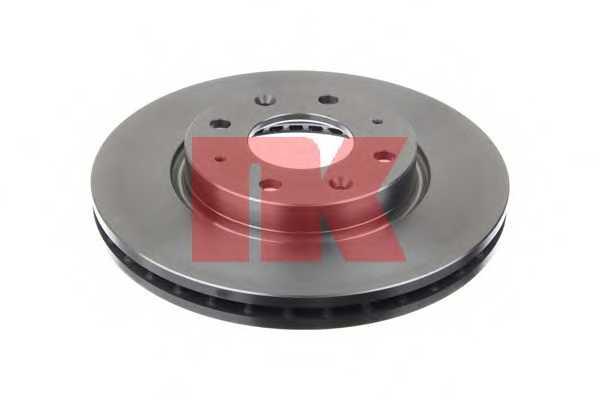 Тормозной диск NK 203512 - изображение