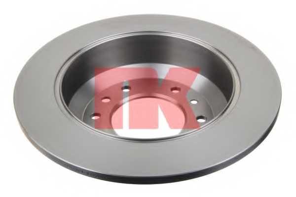 Тормозной диск NK 203525 - изображение 1