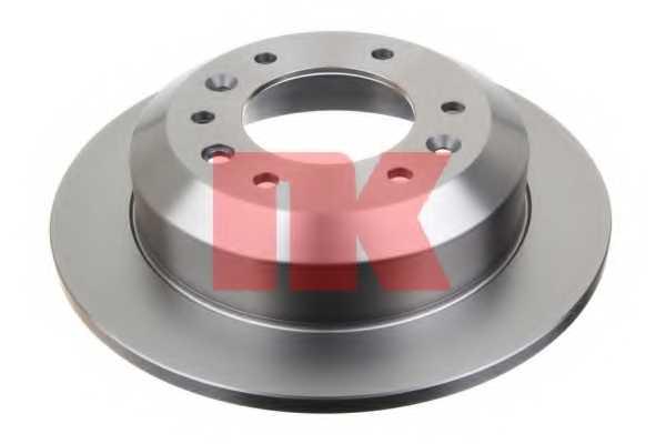 Тормозной диск NK 203525 - изображение