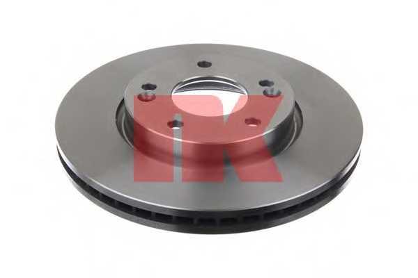 Тормозной диск NK 203526 - изображение 1