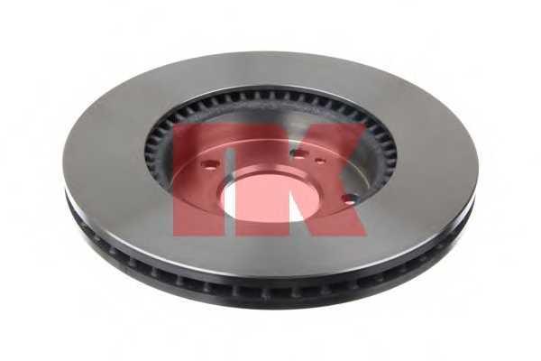 Тормозной диск NK 203526 - изображение