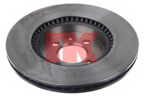 Тормозной диск NK 203536 - изображение