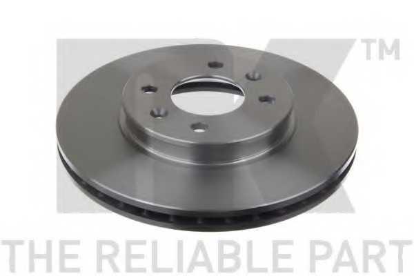 Тормозной диск NK 203537 - изображение 1