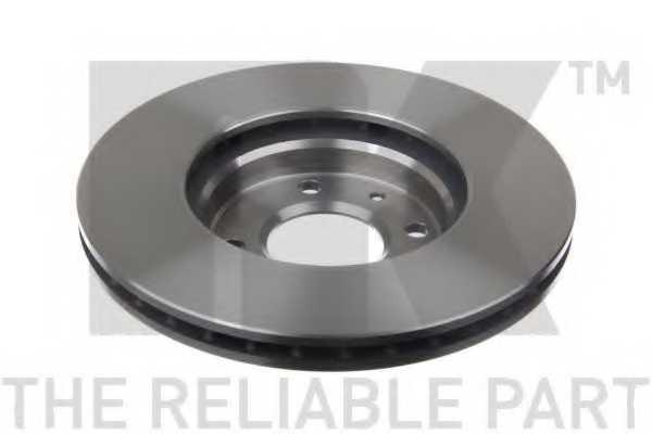 Тормозной диск NK 203537 - изображение