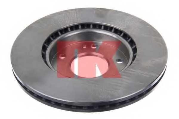 Тормозной диск NK 203538 - изображение 1