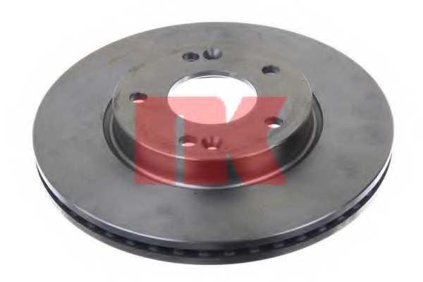 Тормозной диск NK 203538 - изображение