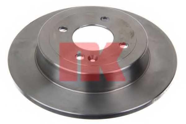 Тормозной диск NK 203539 - изображение 1