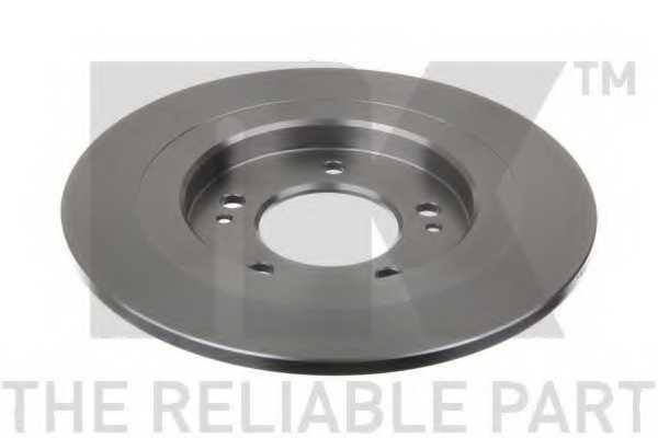 Тормозной диск NK 203541 - изображение 2