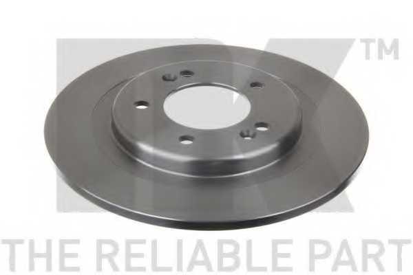 Тормозной диск NK 203541 - изображение