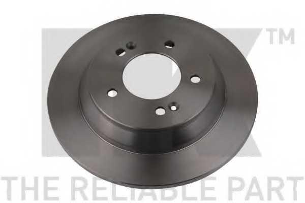 Тормозной диск NK 203542 - изображение 1