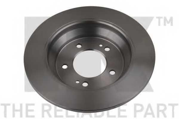 Тормозной диск NK 203542 - изображение