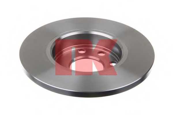 Тормозной диск NK 203606 - изображение 1