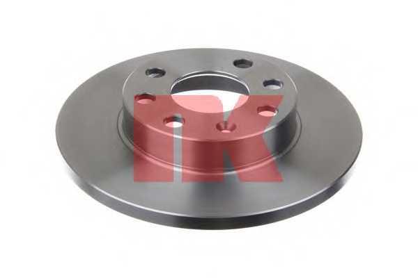 Тормозной диск NK 203606 - изображение