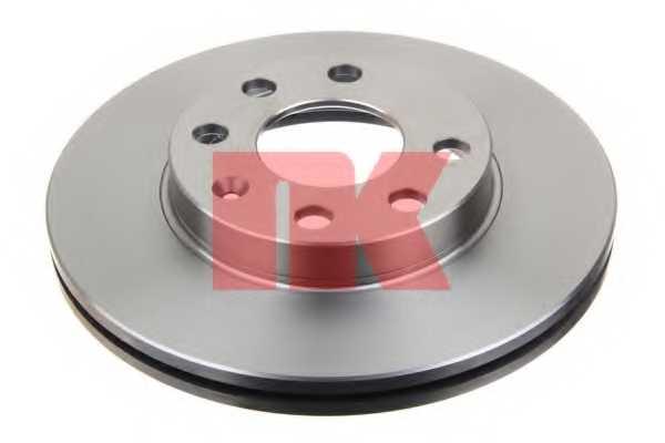 Тормозной диск NK 203608 - изображение