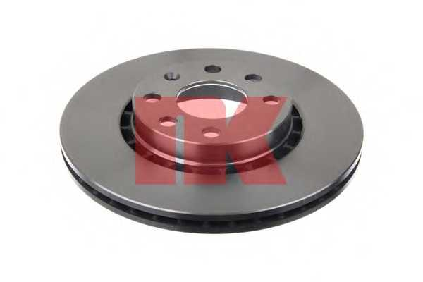 Тормозной диск NK 203617 - изображение