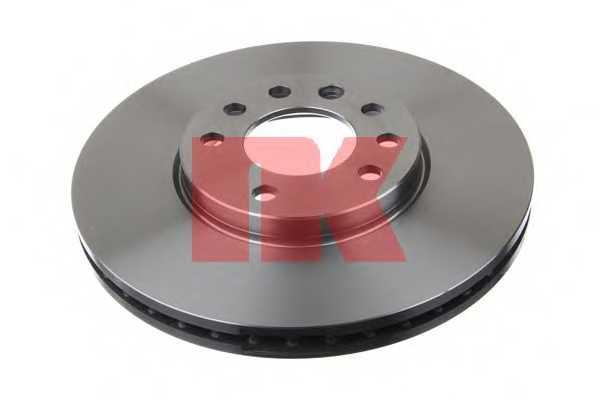 Тормозной диск NK 203625 - изображение