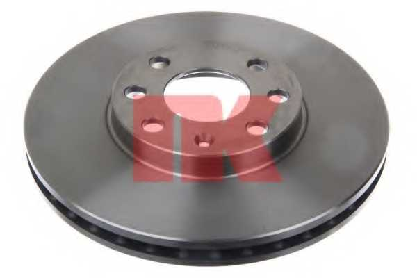 Тормозной диск NK 203629 - изображение