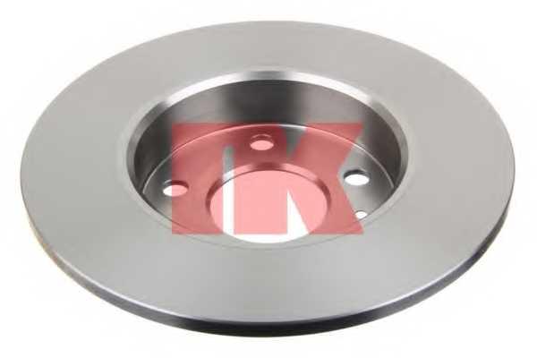Тормозной диск NK 203631 - изображение