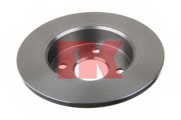 Тормозной диск NK 203633 - изображение 1