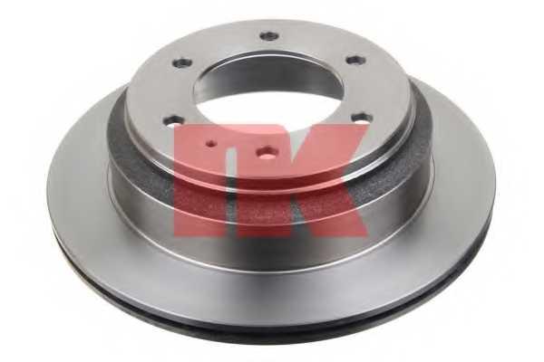 Тормозной диск NK 203635 - изображение