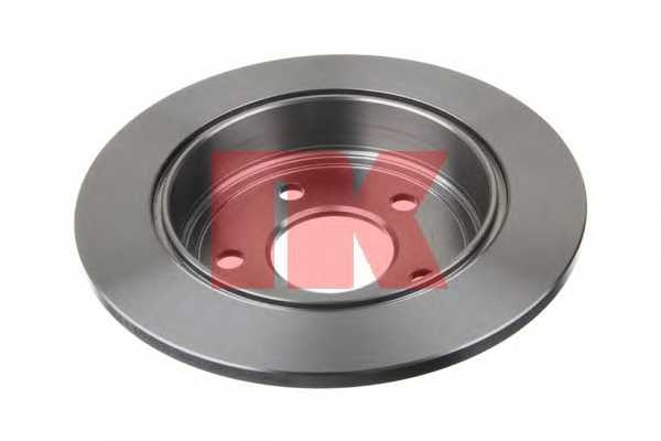Тормозной диск NK 203636 - изображение
