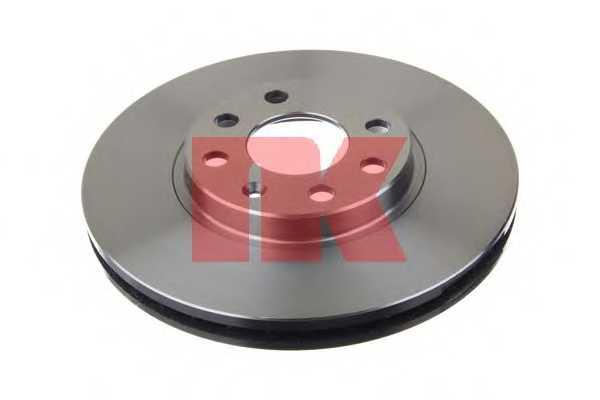 Тормозной диск NK 203637 - изображение