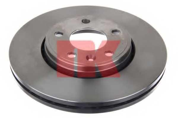 Тормозной диск NK 203639 - изображение