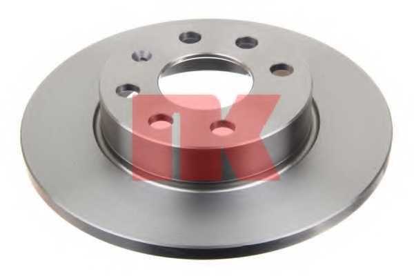 Тормозной диск NK 203641 - изображение 1