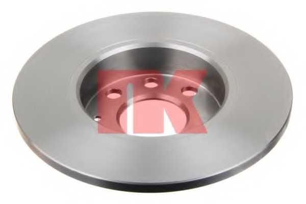 Тормозной диск NK 203641 - изображение
