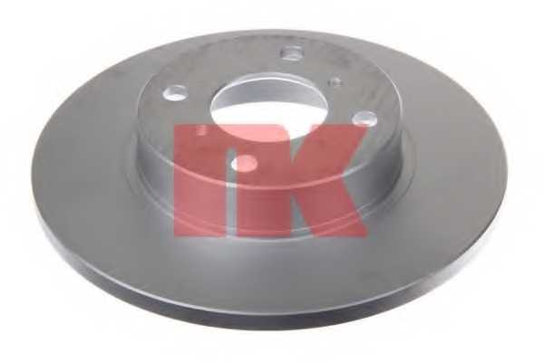Тормозной диск NK 203642 - изображение 1