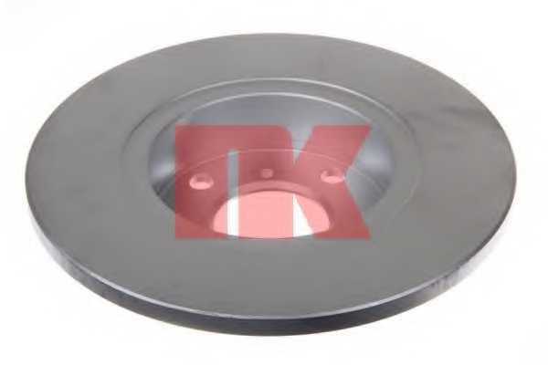 Тормозной диск NK 203642 - изображение