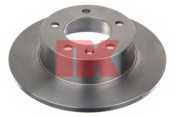 Тормозной диск NK 203643 - изображение