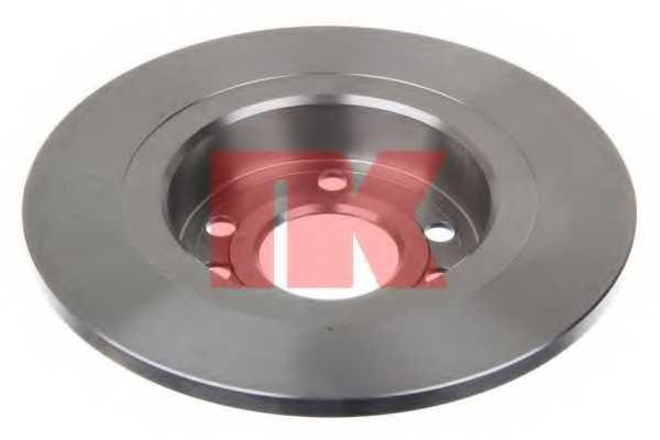 Тормозной диск NK 203646 - изображение