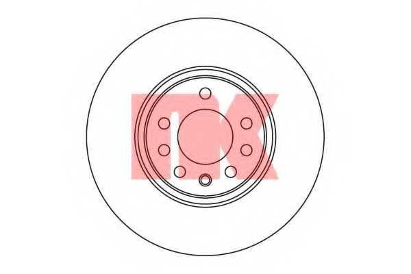 Тормозной диск NK 203648 - изображение