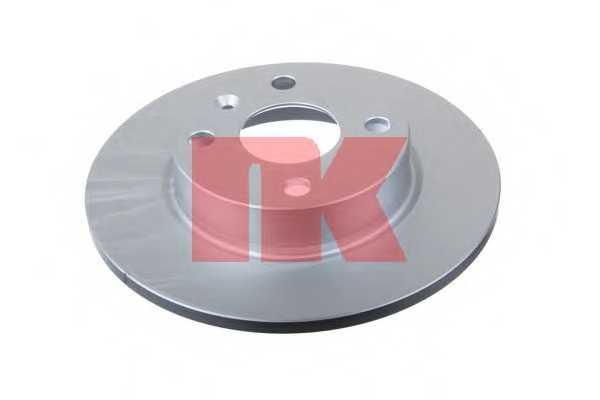 Тормозной диск NK 203649 - изображение