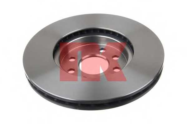 Тормозной диск NK 203651 - изображение