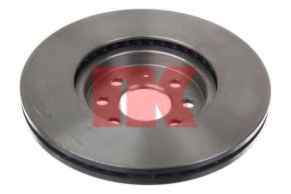 Тормозной диск NK 203652 - изображение