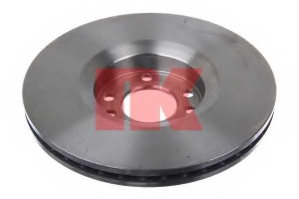 Тормозной диск NK 203653 - изображение 1