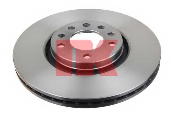 Тормозной диск NK 203654 - изображение 1