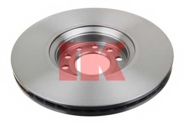 Тормозной диск NK 203654 - изображение