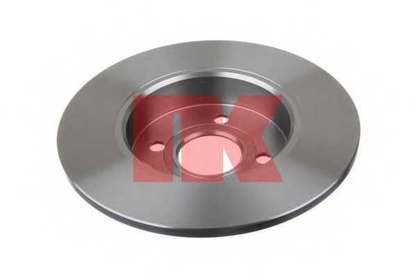 Тормозной диск NK 203655 - изображение
