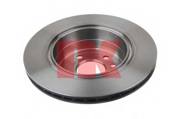 Тормозной диск NK 203657 - изображение 1