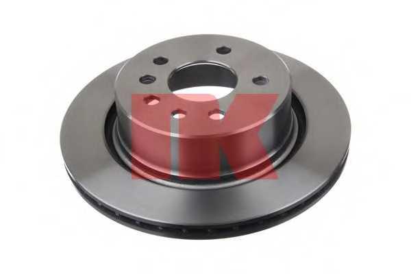 Тормозной диск NK 203657 - изображение