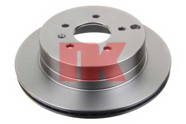 Тормозной диск NK 203665 - изображение 1