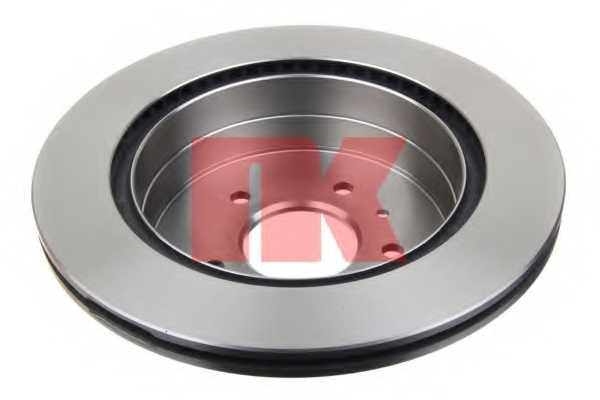 Тормозной диск NK 203665 - изображение