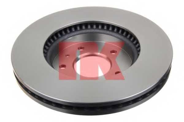 Тормозной диск NK 203666 - изображение 1