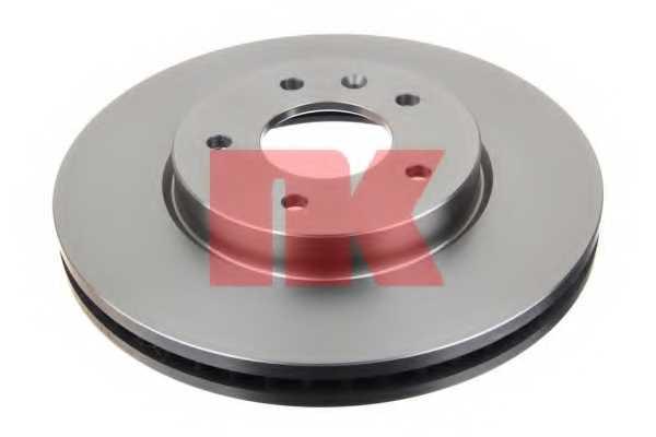 Тормозной диск NK 203666 - изображение