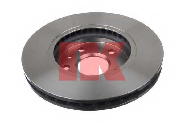 Тормозной диск NK 203667 - изображение