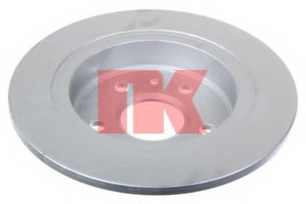 Тормозной диск NK 203668 - изображение 1